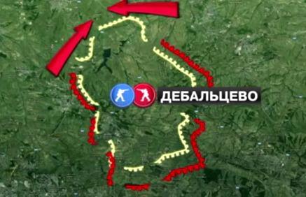 Боевые действия в ДНР и ЛНР