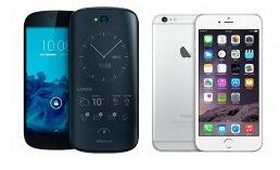 YotaPhone 2 против iPhone 6 - Россия против США