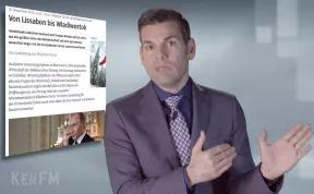 Немецкий журналист: Речь Яценюка на немецком ТВ, это голос фашистов из Киева!