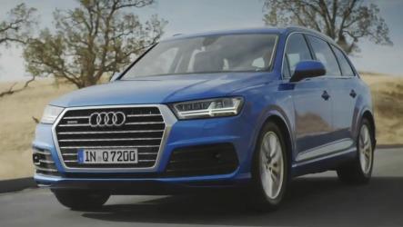 Audi Q7 2015 - Большой тест-драйв USA