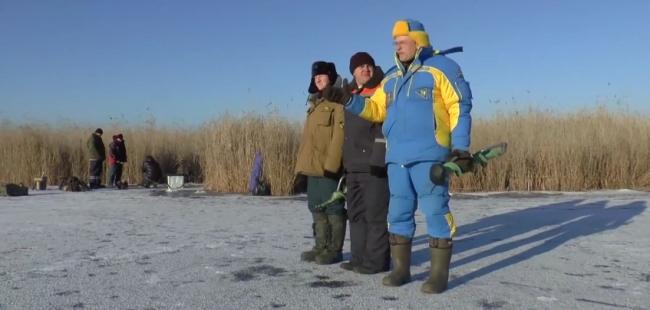 Ловля крупного ротана: Октябрьское озеро (Лебяжье)