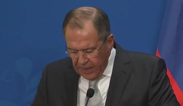 Пресс-конференция Сергея Лаврова в Пекине - видео
