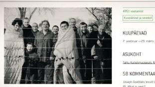 Выставка польских ублюдков в эстонском городе Тарту
