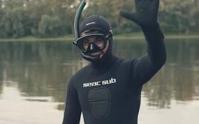 Фильм о подводной охоте: Два мира - две жизни