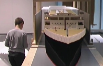 Титаник из Лего