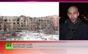 Донецк подвергся артиллерийскому обстрелу 19.02.2015