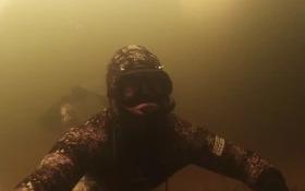 Подводная Охота 2015  Дневная нырялка в феврале