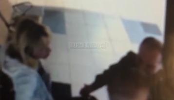 Авиадебошир ударил полицейского в Домодедово