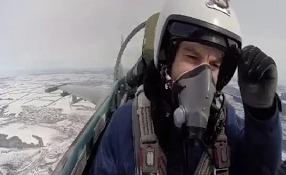 Липецкие летчики на новейших истребителях
