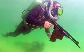 Учения водолазных отрядов по борьбе с диверсантами