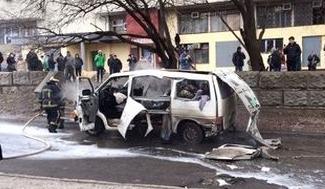 В Харькове взорвался автомобильный кондиционер
