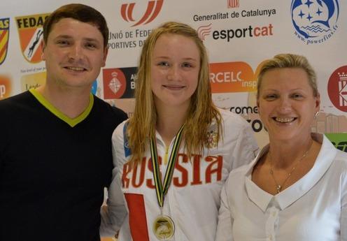 Томичи завоевали шесть медалей на этапе Кубка мира в Испании