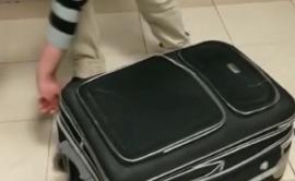 Грузин пытался провезти в Турцию подругу в чемодане