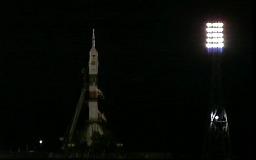 Старт ракеты Союз ТМА-16М на МКС