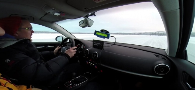 Путешествие по Швеции на Volvo 940  ContIceContact 2