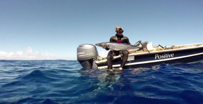 Подводная охота на ваху с Хорхе Мантилья