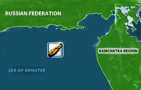 В Охотском море затонул траулер Дальний Восток