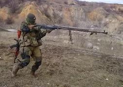 Русский терминатор с Донбасса
