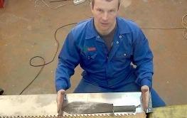 Соколов Григорий: Изготовление тесака