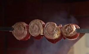 Сталик: шашлык из мраморного мяса
