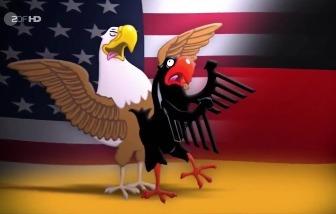 Немецкая сатира: Германия - это филиал США