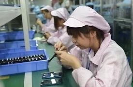 В КНР промышленное производство замедлило рост