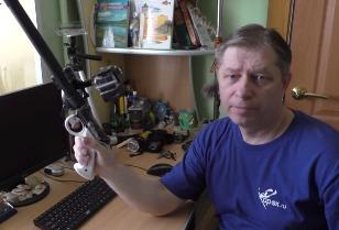 Алексей Крылов: Крепление камеры GoPro на ружье