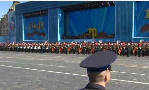 Трансляция генеральной репетиции парада Победы