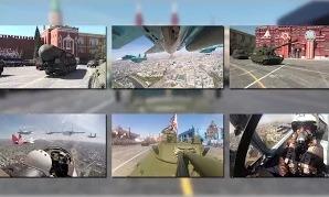 Парад Победы-2015 глазами военных