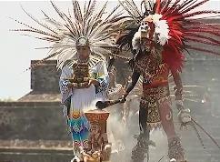 Ацтеки зажгли огонь Панамериканских игр