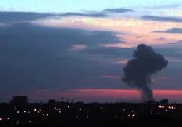 Мощный взрыв, Донецк 16.06.2015