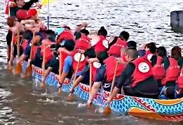 Фестиваль драконьих лодок объединяет тайваньцев
