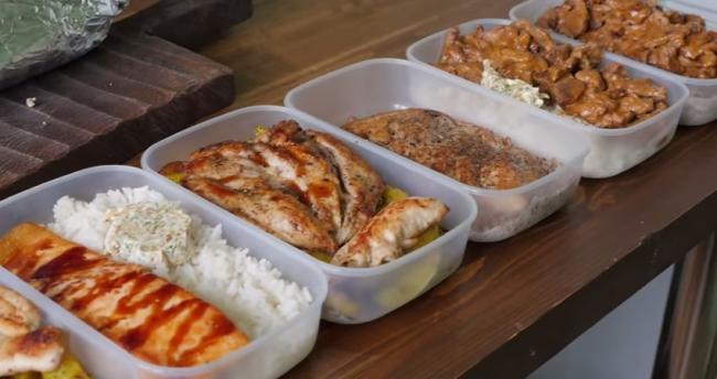 Заготовка вкусной и сытной еды впрок