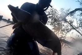 Илдар Сибгатуллин: Трофейная щука, подводная охота в глухом коряжнике (Волга)