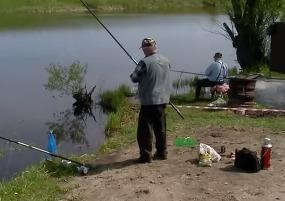 Соревнование по поплавочной ловле карася