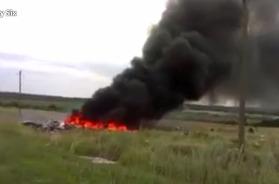 Новое видео с места крушения MH 17