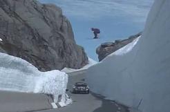 Норвежские чемпионы показали совместный трюк