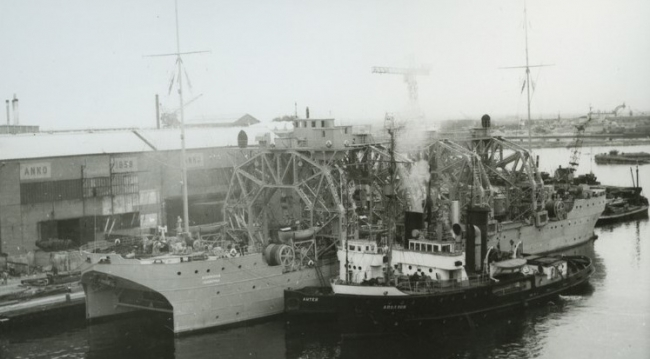 Уникальный корабль спасатель Коммуна - Рожденный спасать