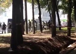 Правый сектор устроил перестрелку в Харькове