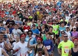 80 тысяч человек вышли на забег по Сиднею