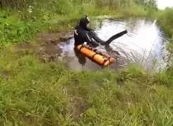 Сергей Барышев: Подводная охота на щуку летом!
