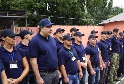 Саакашвили попробовал себя в роли полицейского