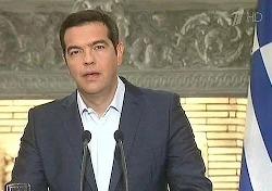 Алексис Ципрас подал в отставку