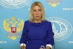 Мария Захарова, первый брифинг в пресс-центре МИД РФ