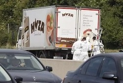 В Австрии нашли грузовик с телами 70 мигрантов