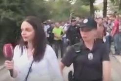 В Киеве напали на украинских журналистов приняв их за Life News