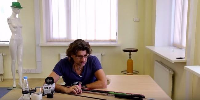 Гаврилин Олег: Установка направляющей для гарпуна и катушки
