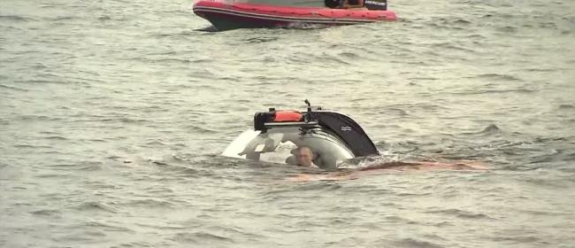 Путин погрузился в батискафе на дно Черного моря у берегов Крыма