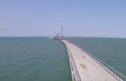 Первую часть моста до Крыма откроют этой осенью