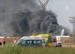 В Испании на заводе пиротехники прогремел взрыв